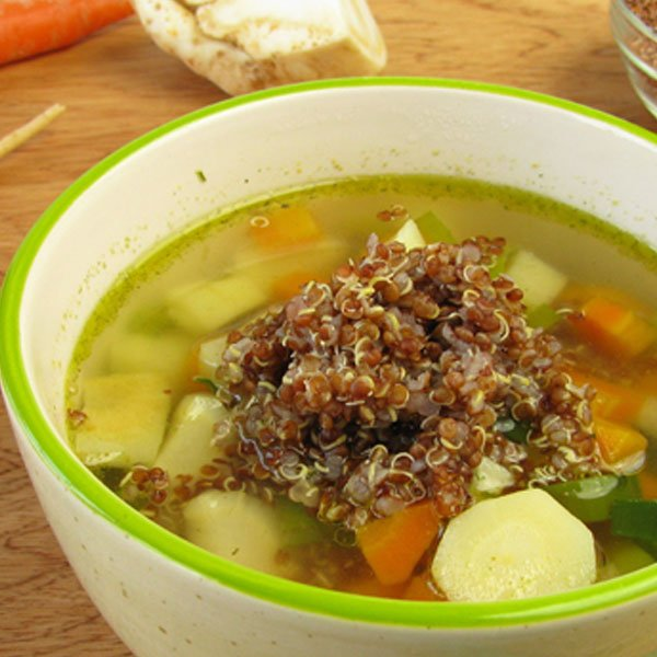 Recipe: Tri-Dosha Veg Quinoa Soup