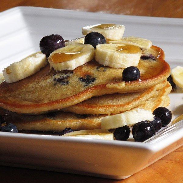 Wheat Free Blueberry Pancake Recipe