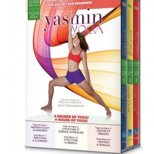 NEW Yoga Basics 3-DVD Box Set