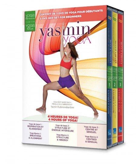 NEW Yoga Basics 3-DVD Box Set
