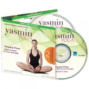 'Vinyasa Flow: Yoga for Back & Core Strength' Instructional Audio CD set